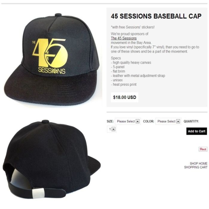 45 sessions hat