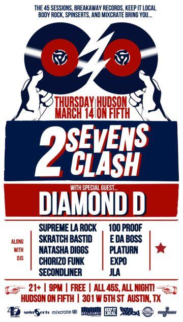 2 Sevens Clash 2013_poster