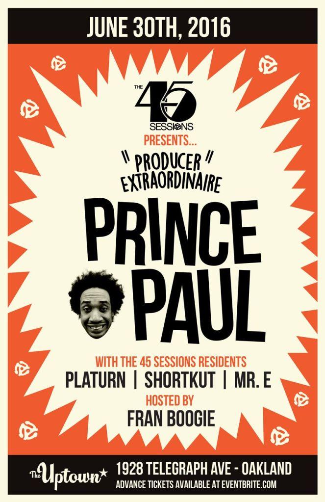 prince paul main poster